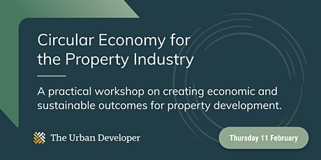 Circular Economy for the Property Industry tickets
