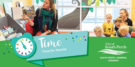 Time for Stories - Manning Library tickets