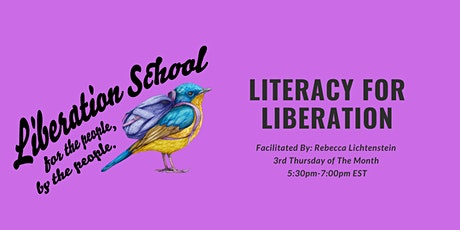 Literacy for Liberation tickets