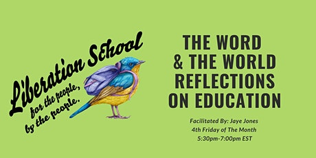 The Word & The World: Reflections on Education tickets