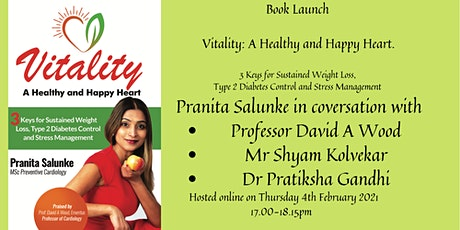 Book Launch Vitality: A Healthy and Happy Heart. tickets