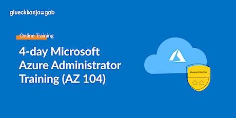 4-day Azure Training - Microsoft Azure Administrator (AZ 104) boletos