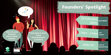 Founder's Spotlight (Network with Startups and Entrepreneurs) tickets