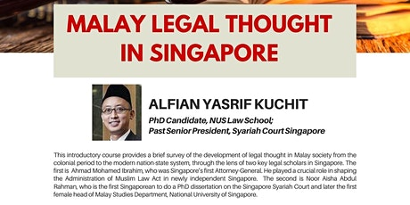 Malay Legal Thought in Singapore tickets