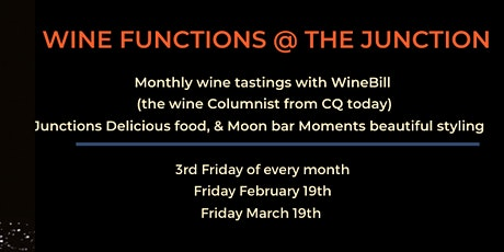 Wine Function @ the junction tickets