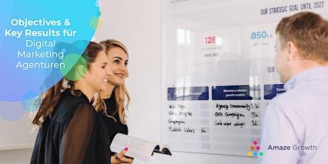 Agile Strategie & OKRs in Startups, Agenturen & KMUs tickets