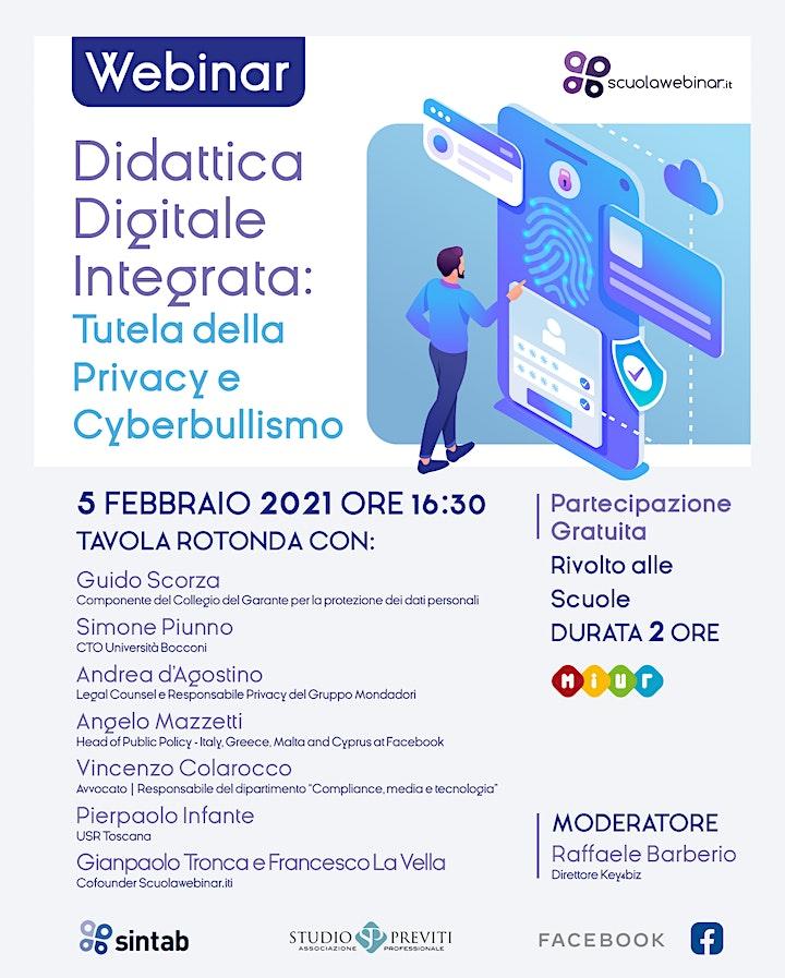 Immagine Didattica Digitale Integrata - Tutela della Privacy