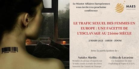 La lutte contre le trafic sexuel des femmes en Europe billets