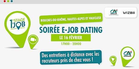 E-Job Dating Bouches-du-Rhône, Vaucluse & Hautes-Alpes : trouver un emploi billets
