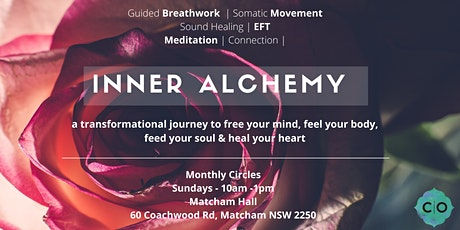 MONTHLY BREATHWORK CIRCLES - INNER ALCHEMY; a transformational journey tickets