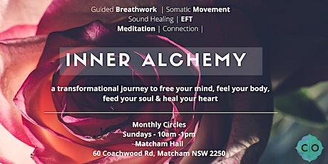 MONTHLY BREATHWORK CIRCLES - INNER ALCHEMY; a transformational journey tickets