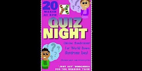 Fundraising Quiz Night for WDSD21 tickets