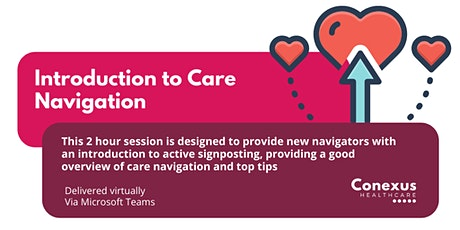 Introduction to Care Navigation  - Wakefield District tickets