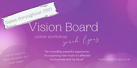Vision Board Workshop - Sat 27th February(12 - 4.30) tickets