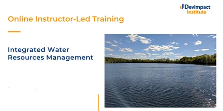 Training on Integrated Water Resources Management tickets
