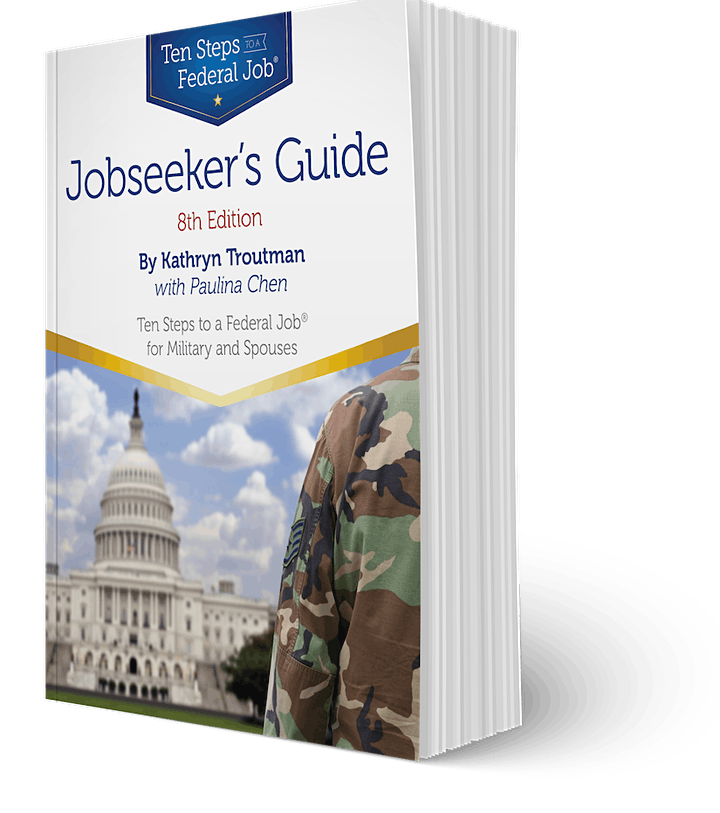 Free 60 Min Webinar -  Ten Steps to a Federal Job with Kathryn Troutman image