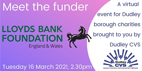 Meet the funder - Lloyds Bank Foundation tickets