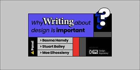 Design Repository Launch Event - Why Writing About Design is Important? tickets