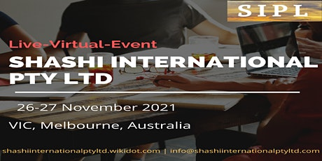 Shashi International Pty Ltd - Virtual Event tickets