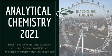 23rd World Congress on Analytical and Bioanalytical Chemistry tickets