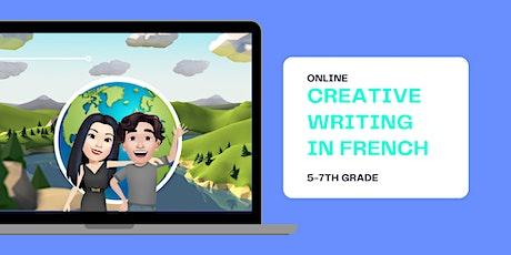 Creative Writing in French 5-7th Grade biglietti