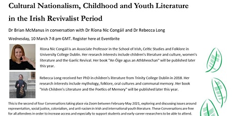 Conversation Series 2: Cultural Nationalism, Childhood and Youth Literature tickets