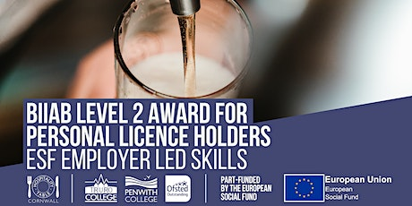 BIIAB Level 2 Award for Personal Licence Holders tickets