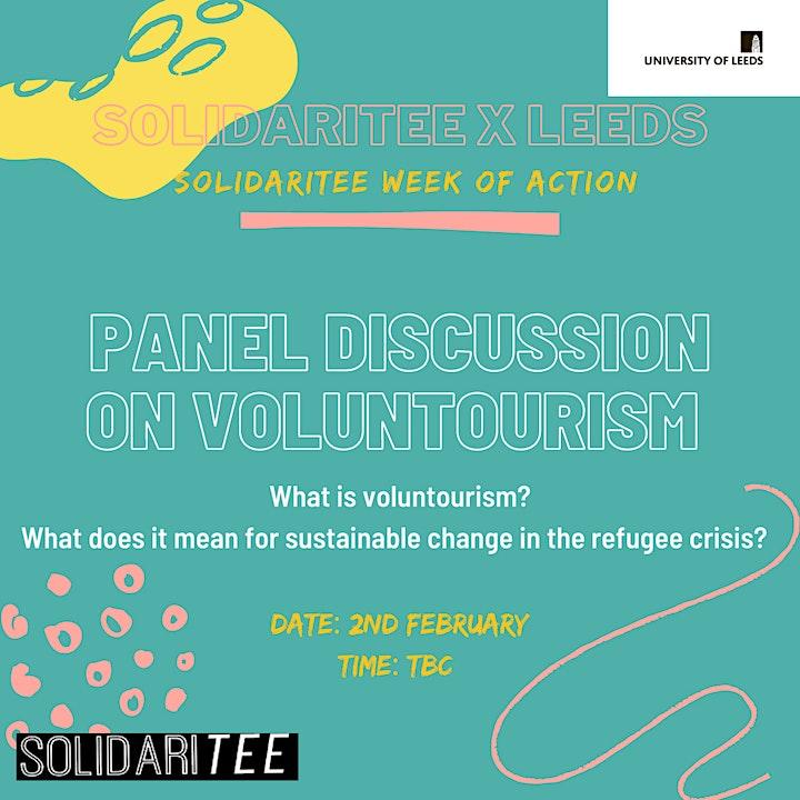 Leeds Solidaritee: Volunteerism vs Voluntourism image