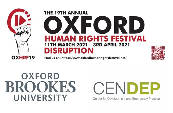 19th Oxford Human Rights Festival Exhibition & Festival Launch image