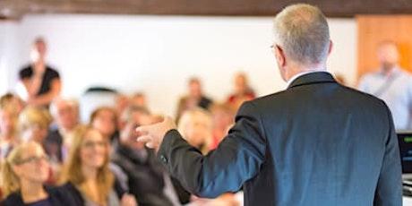 Achieve your Public Speaking Goals tickets