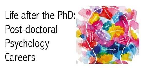 Life after the PhD: Post-doctoral Psychology Careers tickets