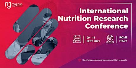 Interantional Nutrition Research Conference biglietti