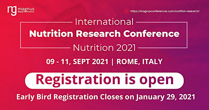 Interantional Nutrition Research Conference image