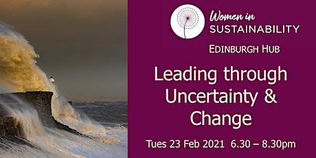 Leadng through Uncertainty. WINS Edinburgh. tickets
