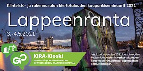 KIRA-alan kiertotalous Lappeenrannassa - verkostotapaaminen tickets