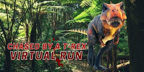 Chased by a T-Rex Virtual Run tickets