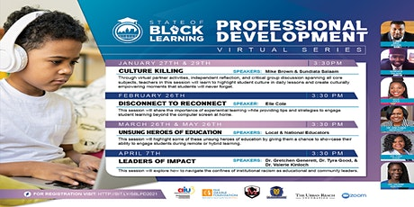 The State of Black Learning Professional Development Series tickets
