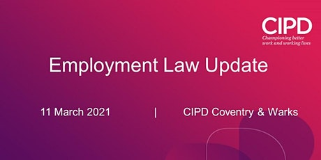 ONLINE: Employment Law Update tickets