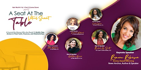 A Seat At The Table:  Women of Faith Taking Action In Business and Life tickets