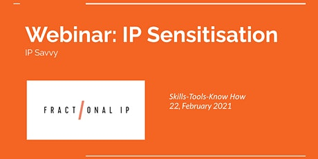 IP Sensitisation Webinar tickets