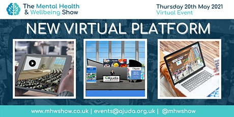 Virtual Exhibitor Spaces at Mental Health & Wellbeing Show 2021 tickets