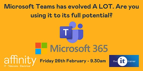 Microsoft Teams has evolved A LOT. Are you using it to its full potential? tickets