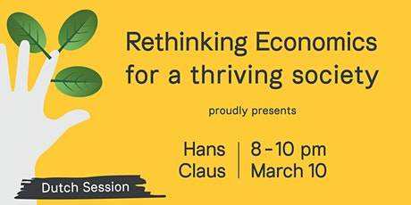 Rethinking Economics Antwerpen for a Thriving Society –  Hans Claus tickets