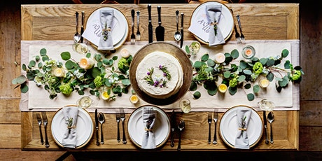 The Art of Tablescapes: Learn & Create at the Garden tickets