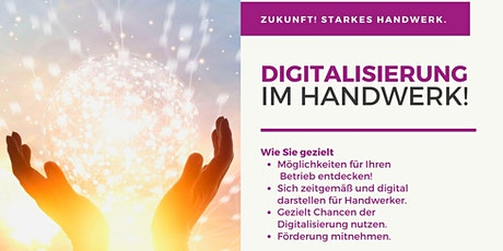 Digitalisierung im Handwerk - Initiative Zukunft Handwerk Tickets