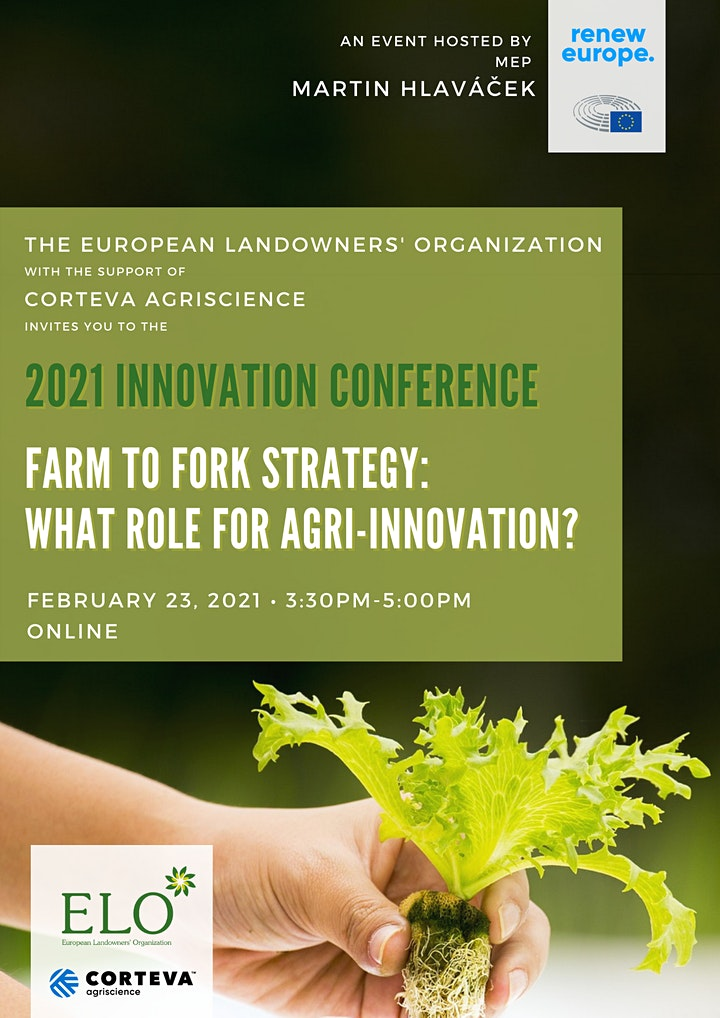 2021 Innovation Conference: F2F strategy, what role for agri-innovation? image
