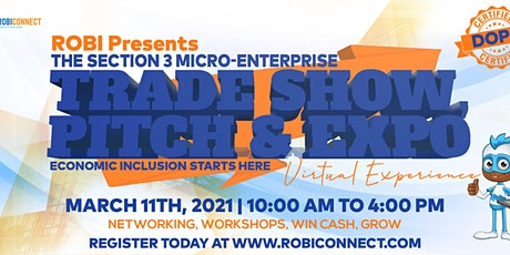 POSTPONED FREE SECTION 3! Access Your Federal Economic Opportunities. tickets