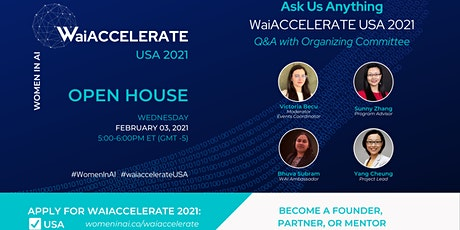 Women in AI - Open House for Aspiring Entrepreneurs tickets