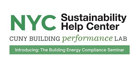 The Building Energy Compliance Seminar (BECS) tickets