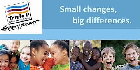 """Raising Resilient Children: Triple P parenting/ Greenville First Steps tickets"